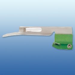 Green System Disposable Fibre-Optic Miller Laryngoscope Blades